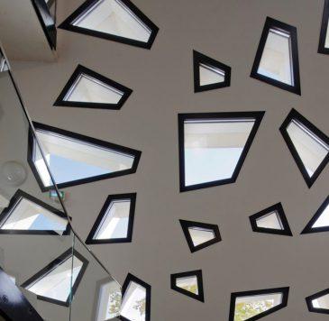 Fenêtres polygonales fabriquées sur-mesure