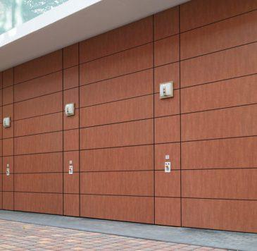 Porte de garage : Portes de garage motorisées multiples