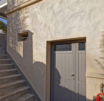 Portes d'entrée : Porte extérieure de sous-sol