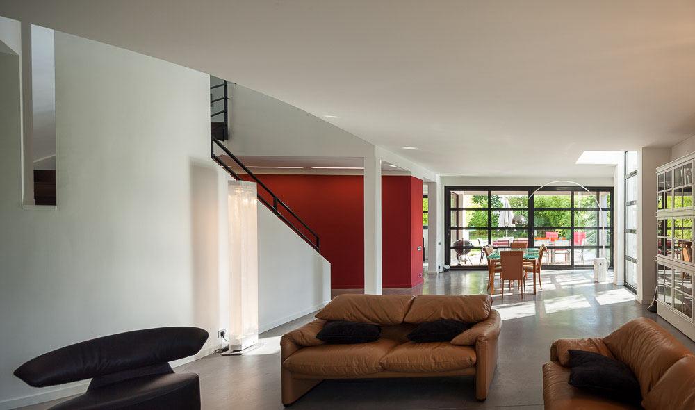 mur rideau maison store pour porte fenetre coulissante. Black Bedroom Furniture Sets. Home Design Ideas